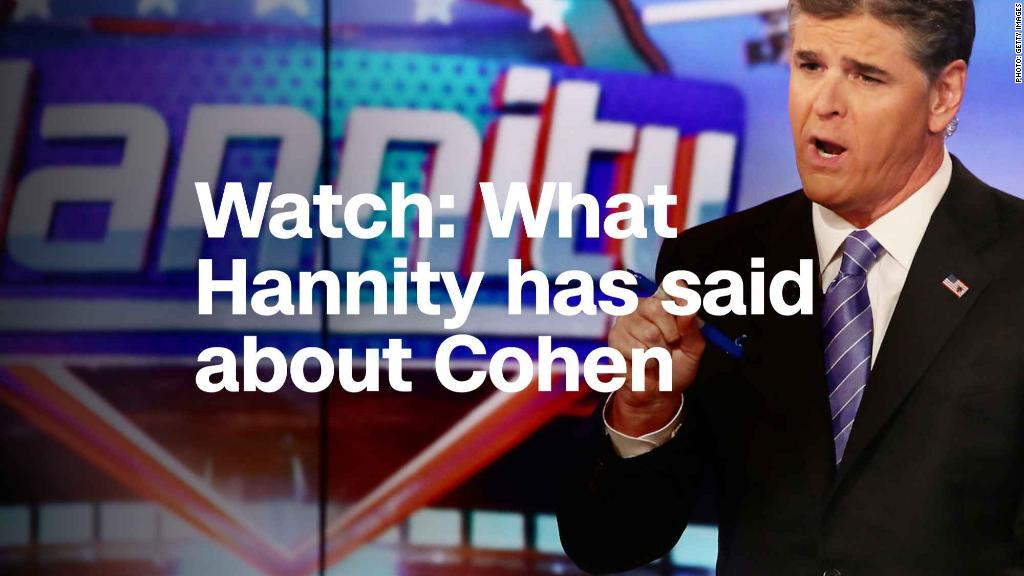 Sean Hannity Dismisses Relevance of Relationship with Michael Cohen — Watch