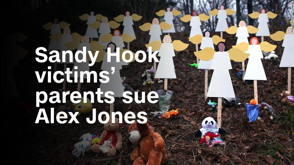 Parents of Sandy Hook victims sue Alex Jones
