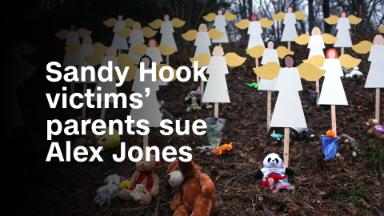 Parents of Sandy Hook victims sue Alex Jones