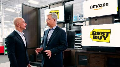 Amazon and Best Buy partner to sell smart TVs