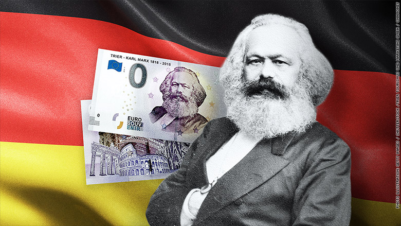 Karl Marx 0 bills are red hot