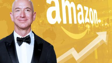 Amazon and Jeff Bezos are on top of the world