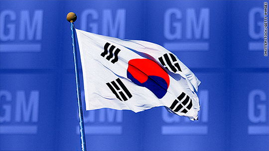 GM Korea on verge of filing for bankruptcy