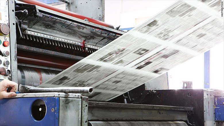 Local newspapers fear tariffs could cripple them