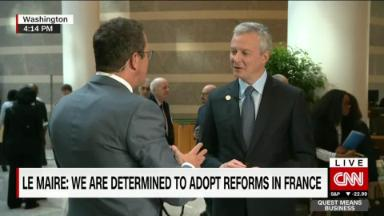 France's reforms will bring jobs, growth: Bruno La Maire