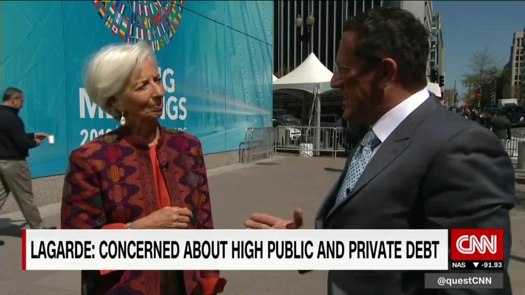 What keeps Lagarde up at night?