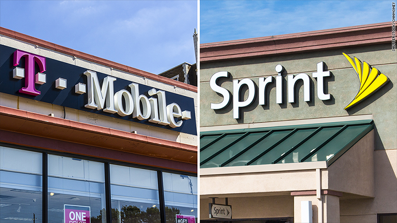 Sprint, T-Mobile finalizing merger with John Legere as chief
