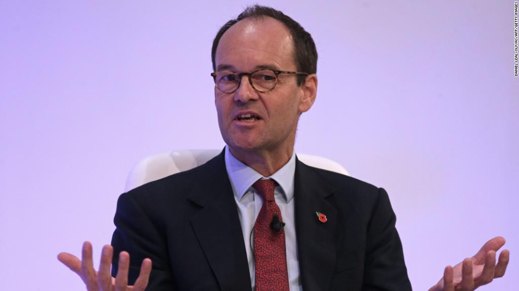 Sainsbury's CEO caught in singing blunder