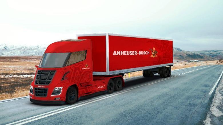 Anheuser-Busch orders 800 hydrogen-powered semi trucks from Tesla rival Nikola