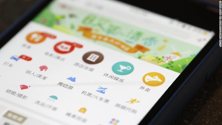 Meituan Dianping Chinese tech giant