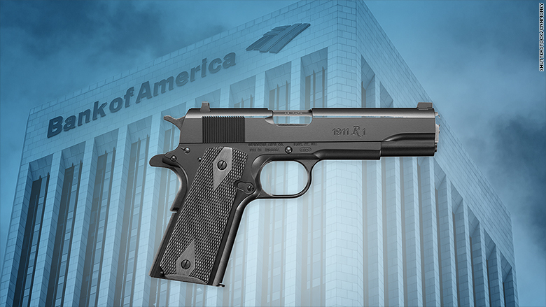 Bank of America is still working with gunmaker Remington