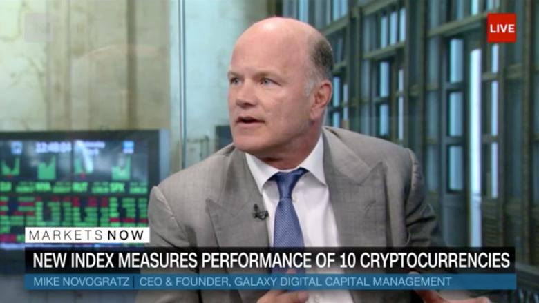 Bloomberg Partners with Novogratz to Launch Crypto Index