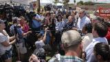 The media surges to the border as family separation crisis grows