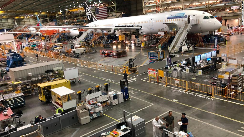 Behind the scenes at Boeing's biggest factory