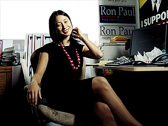 Justine Lam, Ron Paul for President