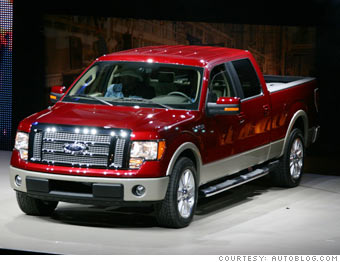 Detroit auto show next year 39 s cars and suvs ford f 150 for Ford motor company pension calculator