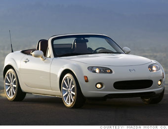 Fun to drive: Mazda MX-5