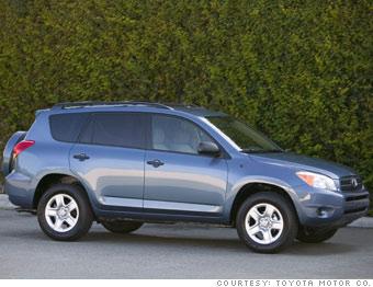 Small SUV: Toyota Rav4