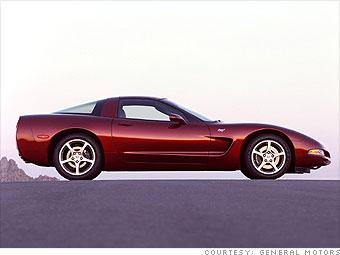 pictures of 50th anniversary corvette