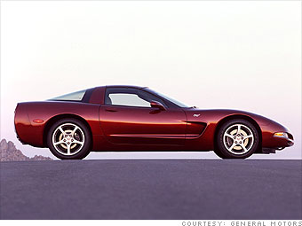 pictures of 50th anniversary corvette