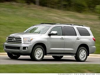 Toyota Sequoia Platinum 4WD