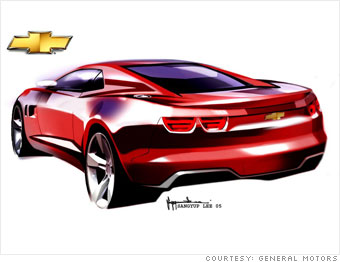 Cnn Camaro From Sketchpad To Street The Rebirth Of A Muscle