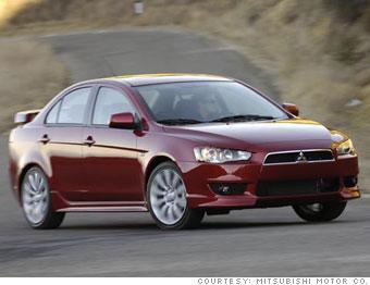 Top 10 dirt-cheap cars - Mitsubishi Lancer (5) - CNNMoney.com