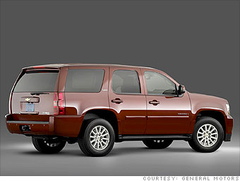 Big SUV: Chevrolet Tahoe Hybrid