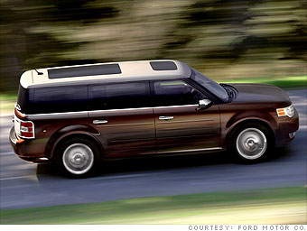 Big crossover: Ford Flex