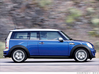 Small car: Mini Cooper Clubman