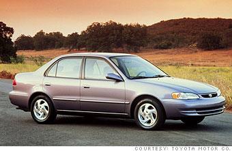 1998 -  2000 Toyota Corolla CE/LE