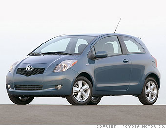 2007 Toyota Yaris Liftback and sedan
