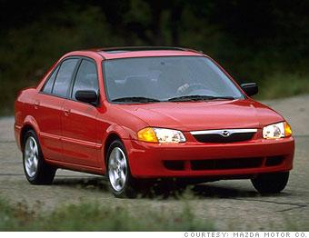 1998 Mazda Protege LX