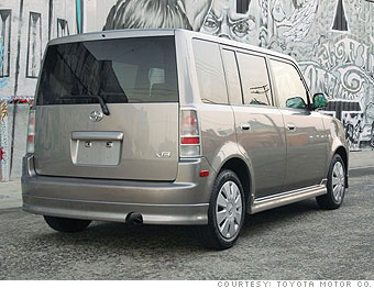 2005 - '06 Scion xB (manual/auto)