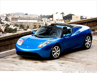 Electric Cars You Can Buy Now Tesla Roadster Cnnmoney Com