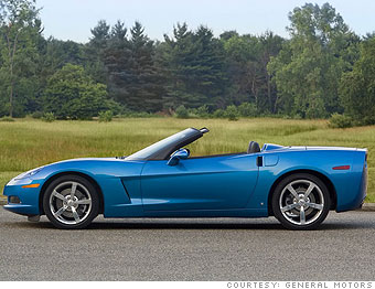 Sports car: Chevrolet Corvette