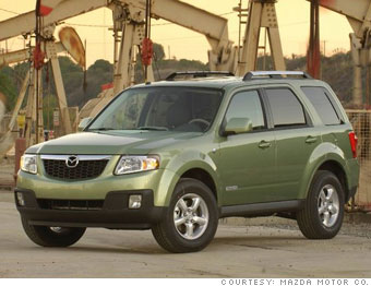 Small crossover: Mazda Tribute Hybrid