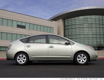 Midsized car: Toyota Prius