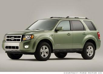 Winner: Ford Escape Hybrid