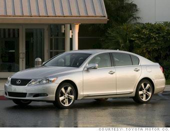 Loser: Lexus GS 450h