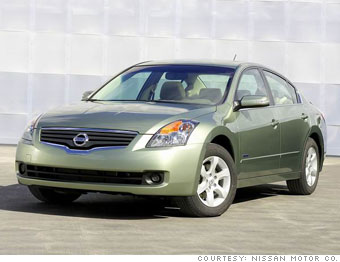 Winner: Nissan Altima Hybrid