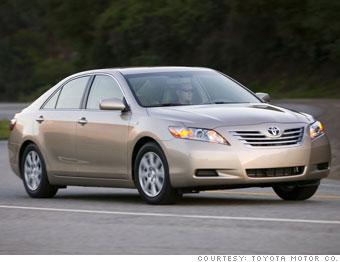 Winner: Toyota Camry Hybrid