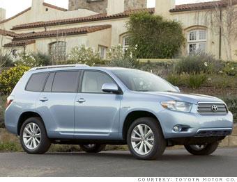 Loser: Toyota Highlander Hybrid