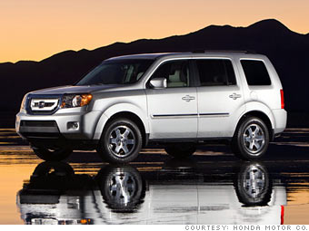 consumer reports 39 most reliable cars mid size suvs honda pilot 2008 7. Black Bedroom Furniture Sets. Home Design Ideas