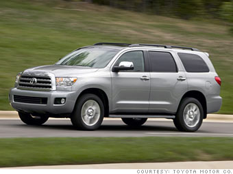 consumer reports 39 most reliable cars large suvs toyota sequoia 8. Black Bedroom Furniture Sets. Home Design Ideas