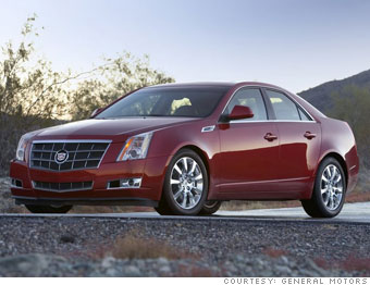 Large car - Cadillac CTS