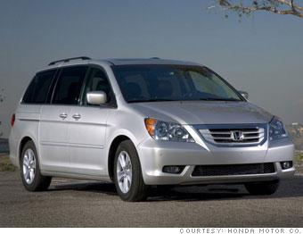 Minivan - Honda Odyssey