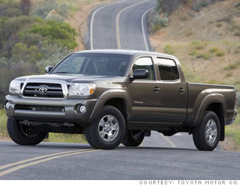 Small pickup - Toyota Tacoma
