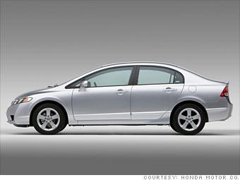 Bailout blow-out car deals - 2009 Honda Civic (7) - CNNMoney.com