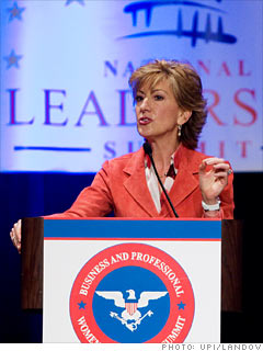 Carly Fiorina, Former CEO Hewlett-Packard